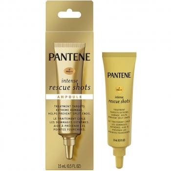 Pantene Pro-V Intense Rescue Shots Hair Ampoule Hair Damage Treatment  Средство для интенсивного восстановления поврежденных волос 15 мл