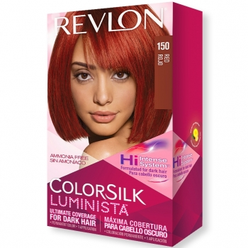 Revlon ColorSilk Luminista Hair Color Стойкая краска для темных волос оттенок 150 Red (Рыжий)