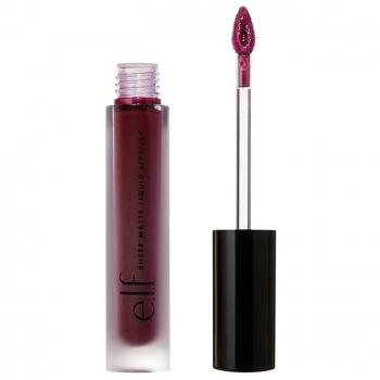 e.l.f. Sheer Matte Liquid Lipstick  Жидкая матовая помада для губ оттенок Deep Dahlia