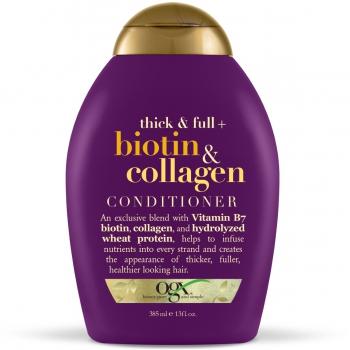OGX Thick and Full Biotin & Collagen Conditioner Кондиционер с биотином и коллагеном для утолщения волос 385 мл