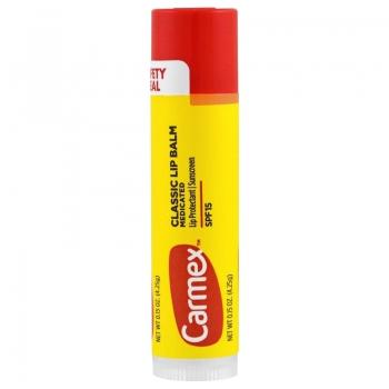 Carmex Classic Lip Balm Medicated Original Stick SPF 15 Лечебный бальзам для губ в стике 4.25 г