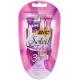 BIC Soleil Twilight Women's 3 Blade Disposable Razor  Женские одноразовые станки для бритья с ароматом лаванды, 4 шт.