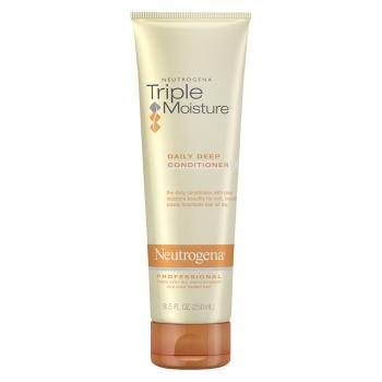 Neutrogena Triple Moisture Professional Daily Deep Conditioner Профессиональный кондиционер Тройное увлажнение для сухих, поврежденных и окрашенных волос 250 мл