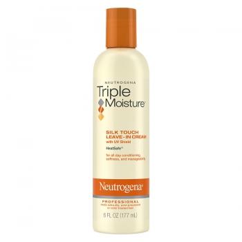 Neutrogena Triple Moisture Professional Silk Touch Leave-In Hair Cream Профессиональный несмываемый крем Тройное увлажнение для сухих, поврежденных и окрашенных волос 177 мл