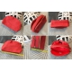 Lancome Cosmetic Makeup Bag Coral Косметичка