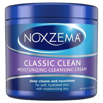 Noxzema Classic Clean Moisturizing Cleansing Cream Очищающий увлажняющий крем для лица с соей 340 г