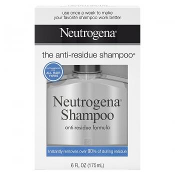 Neutrogena Anti-Residue Shampoo Еженедельный шампунь для глубокого очищения волос 175 мл