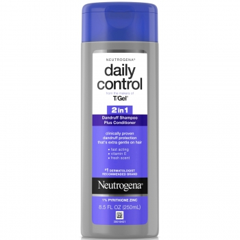 Neutrogena T/Gel Daily Control 2-in-1 Dandruff Shampoo Plus Conditioner  Шампунь и кондиционер 2-в-1 против перхоти 250 мл