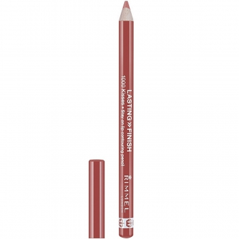Rimmel Lasting Finish 1000 Kisses Lip Pencil Стойкий карандаш для губ оттенок 007 Rose Quartz