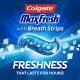 "Colgate Max Fresh Anticavity Fluoride Toothpaste with Whitening Breath Strips Cool Mint Отбеливающая зубная паста ""Освежающая мята"" 170 г"