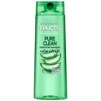 Garnier Fructis Pure Clean Fortifying Shampoo  Очищающий и укрепляющий шампунь с экстрактом алоэ 370 мл