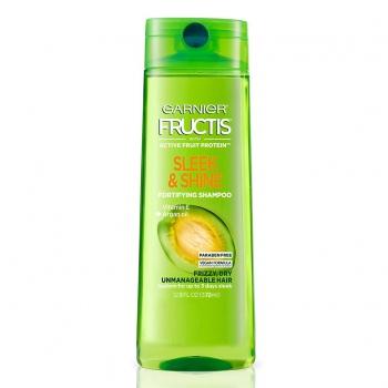 Garnier Fructis Sleek & Shine Fortifying Shampoo  Разглаживающий и укрепляющий шампунь с аргановым маслом 370 мл