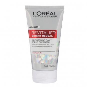 L'Oreal Paris Revitalift Bright Reveal Brightening Daily Scrub Cleanser Ежедневный очищающий скраб для сияния кожи 150 мл