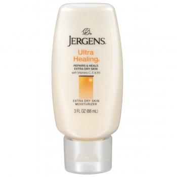 Jergens Ultra Healing Extra Dry Skin Moisturizer  Увлажняющий лосьон для очень сухой кожи 88 мл