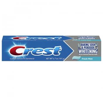 Crest Baking Soda & Peroxide Whitening with Tartar Protection Toothpaste Fresh Mint Отбеливающая зубная паста 161 г
