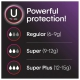 U by Kotex Security Tampons, Super Plus Absorbency, Unscented Гигиенические тампоны Супер плюс, 16 шт