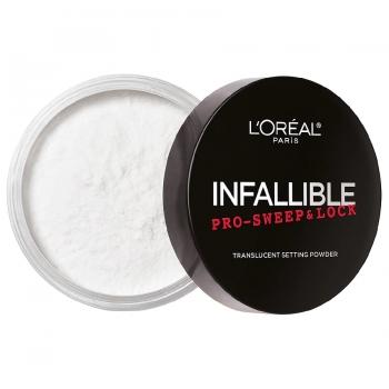L'Oreal Paris Infallible Pro Sweep & Lock Loose Setting Powder Финишная рассыпчатая пудра оттенок 610 Translucent Прозрачная 8 г