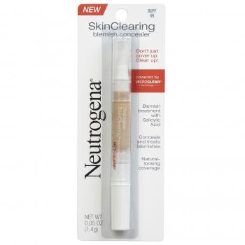 Neutrogena SkinClearing Blemish Concealer Жидкий консилер против акне оттенок 09 Buff