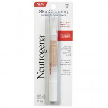 Neutrogena SkinClearing Blemish Concealer Жидкий консилер против акне оттенок 05 Fair