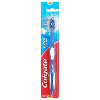 Colgate Extra Clean Toothbrushes Soft Зубная щетка мягкая, салатовая