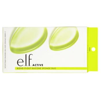 e.l.f. Active Blend It Out Silicone Sponge Duo Набор силиконовых спонжей для макияжа