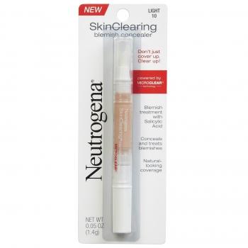 Neutrogena SkinClearing Blemish Concealer Жидкий консилер против акне оттенок 10 Light