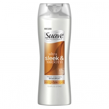 Suave Professionals Ultra Sleek & Smooth Frizz Control Shampoo Разглаживающий шампунь для вьющихся волос 373 мл