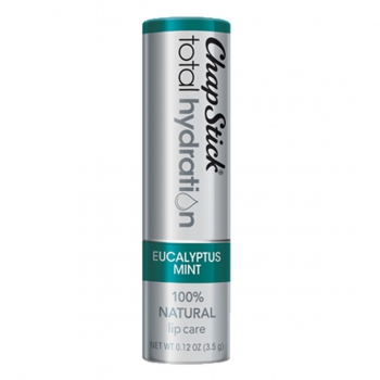 ChapStick Total Hydration 100% Natural Lip Care Eucalyptus Mint Натуральный бальзам для губ Эвкалипт 3.5 г