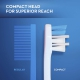 Oral-B Gum Care Compact Manual Toothbrush Extra Soft Зубная щетка экстра мягкая, сиреневая