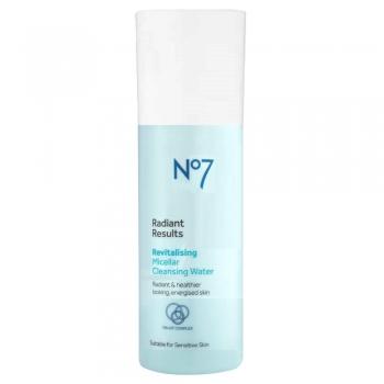 No7 Laboratories Radiant Results Revitalizing Micellar Cleansing Water Мицеллярная вода для сияния кожи 30 мл (миниатюра)