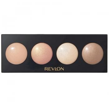 Revlon Illuminance Creme Shadow Палетка кремовых теней для век оттенок 730 Skinlights