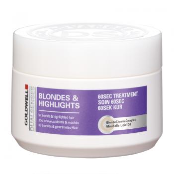 Goldwell DualSenses Blondes & Highlights 60sec Treatment Маска 200 мл