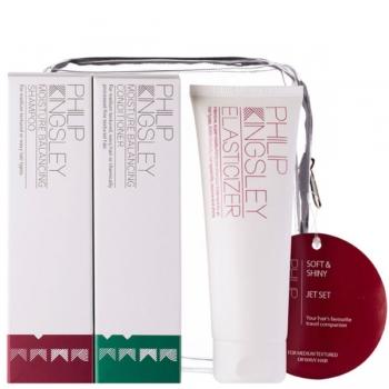 Philip Kingsley Jet Set  Soft & Shiny Набор для мягкости и блеска волос