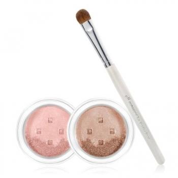 e.l.f. Mineral 3-Piece Eyeshadow & Brush Set  Набор минеральные тени + кисть