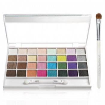 e.l.f. Studio 32-Piece Eyeshadow Palette & Brush Set Набор теней