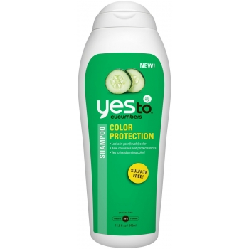 Yes To Cucumbers Color Protection Shampoo Шампунь Защита цвета 340 мл
