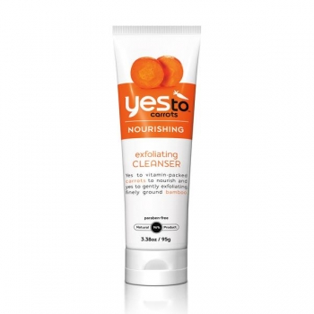Yes To Carrots Exfoliating Cleanser Очищающий скраб 95 г