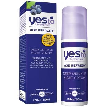 Yes To Blueberries Deep Wrinkle Night Cream Ночной крем против глубоких морщин 50 мл