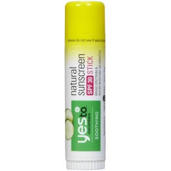 Yes To Cucumbers Natural Sunscreen SPF 30 Stick  Сухой солнцезащитный крем 15 г