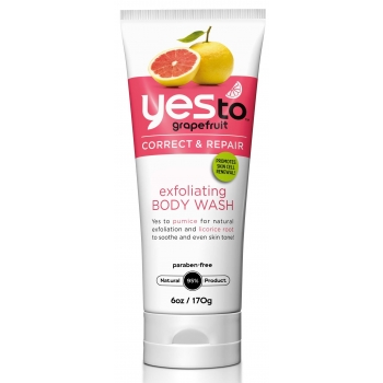 Yes To Grapefruit Exfoliating Body Wash  Отшелушивающий скраб для тела 170 г