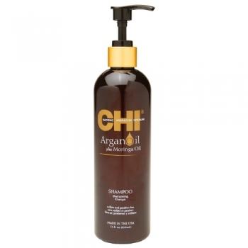 CHI Argan Oil Plus Moringa Oil Shampoo Восстанавливающий шампунь 355 мл