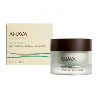 AHAVA Time to Smooth Age Control Night Nourishment Антивозрастной ночной питательный крем 50 мл