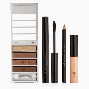e.l.f. Essential Holiday 4 Piece Get the Look Collection - Get the Look Set Набор декоративной косметики