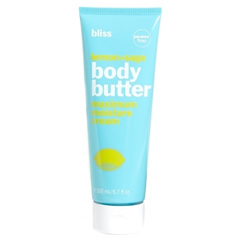 Bliss Body Butter Lemon + Sage Крем для тела 30 мл (миниатюра)