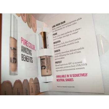 bareMinerals 5 in 1 BB Advanced Performance Cream Eyeshadow Кремовые тени-праймер Barely Nude 1 мл (миниатюра)