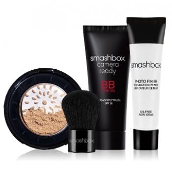 Smashbox Try It Kit: BB + Halo Набор декоративной косметики Light Светлый