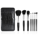 e.l.f. Studio Luxe Brush Collection Набор кистей для макияжа, 7 шт. + Клатч